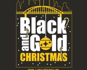 Black and Gold Christmas