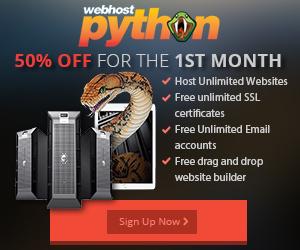 webhost python